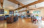 Sustainable bamboo floors throughout the upstairs. Fire sprinkler system throughout the whole house.