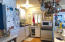 This is a photo of the kitchen in garage conversion