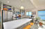 The Island Kitchen provides additional entertaining space.