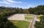 220' x 100' sand & fibre arena & 5 grass paddocks