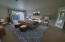 Master bedroom virtually staged