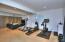 Downstairs den & gym