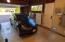 Garage with Tesla Battery System