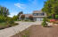 Private driveway leads to this special home hidden at the end of cul-de-sac.