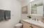 Downstairs bath with walk-in shower