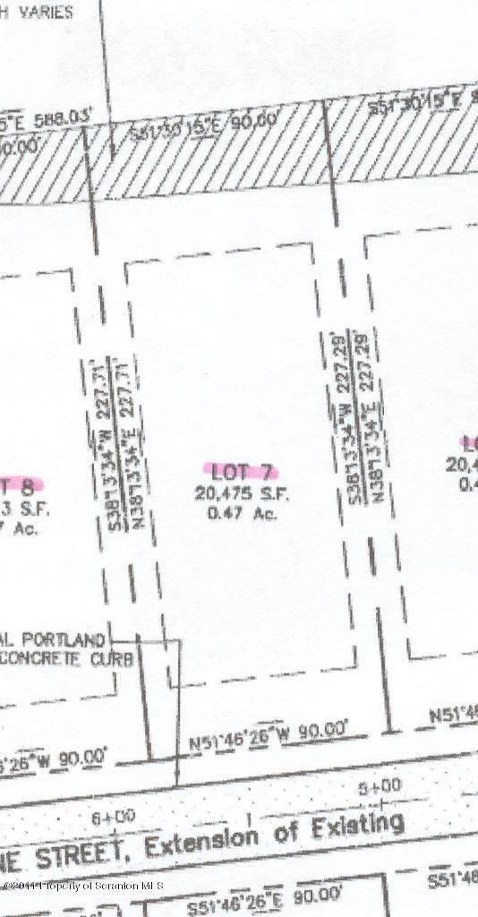 Lot 7 Line St, Olyphant, Pennsylvania 18447, ,Land,For Sale,Line,11-1061