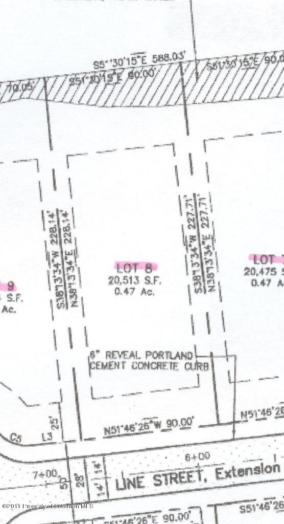 Lot 8 Line St, Olyphant, Pennsylvania 18447, ,Land,For Sale,Line,11-1062