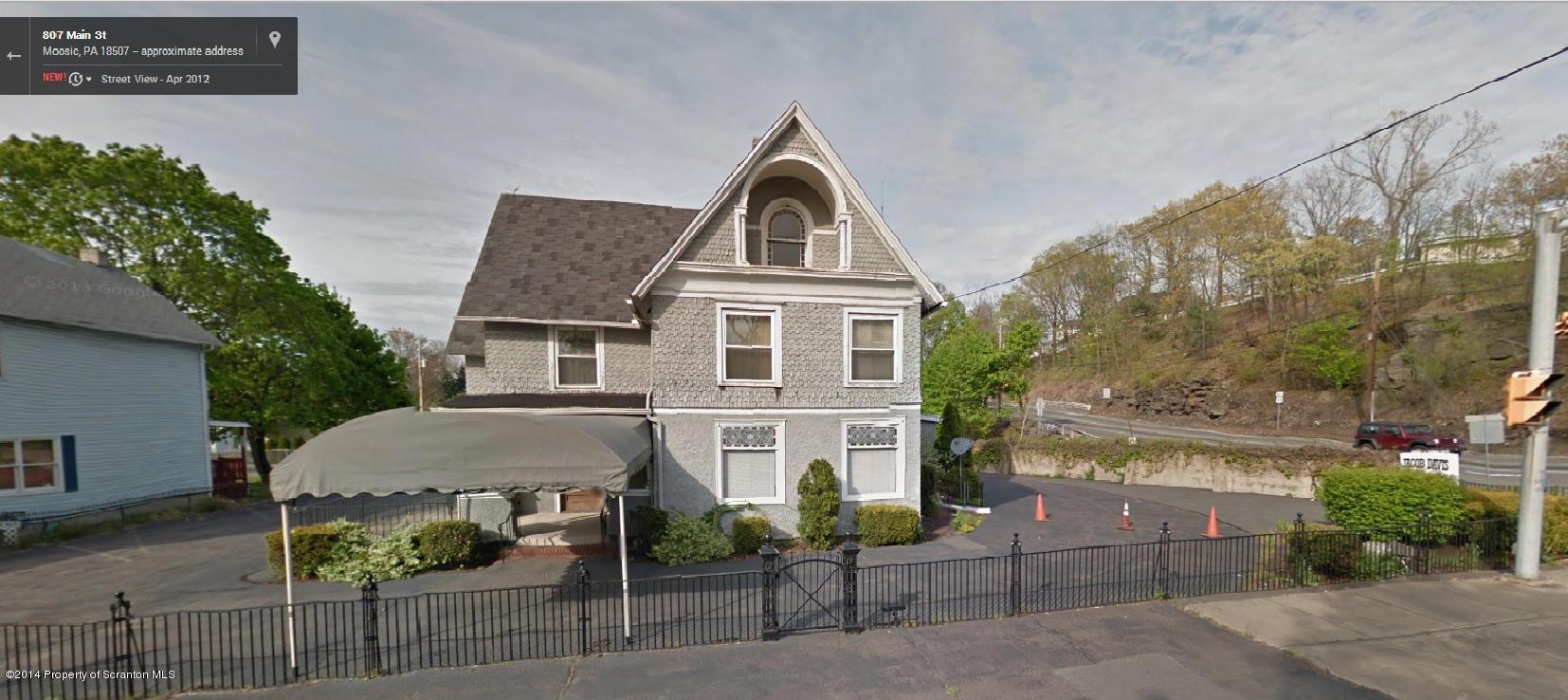 813 Main St, Moosic, Pennsylvania 18507, ,3 BathroomsBathrooms,Commercial,For Sale,Main,14-2093
