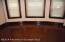 New windows--hardwood floors in dining room