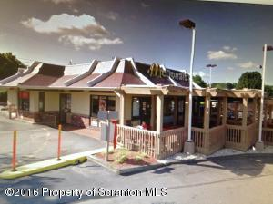 Cor Pittston Ave. & Washington, Moosic, PA 18507