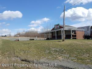 Commercial lot with great exposure to heavily traveled Route 6 in Dickson City