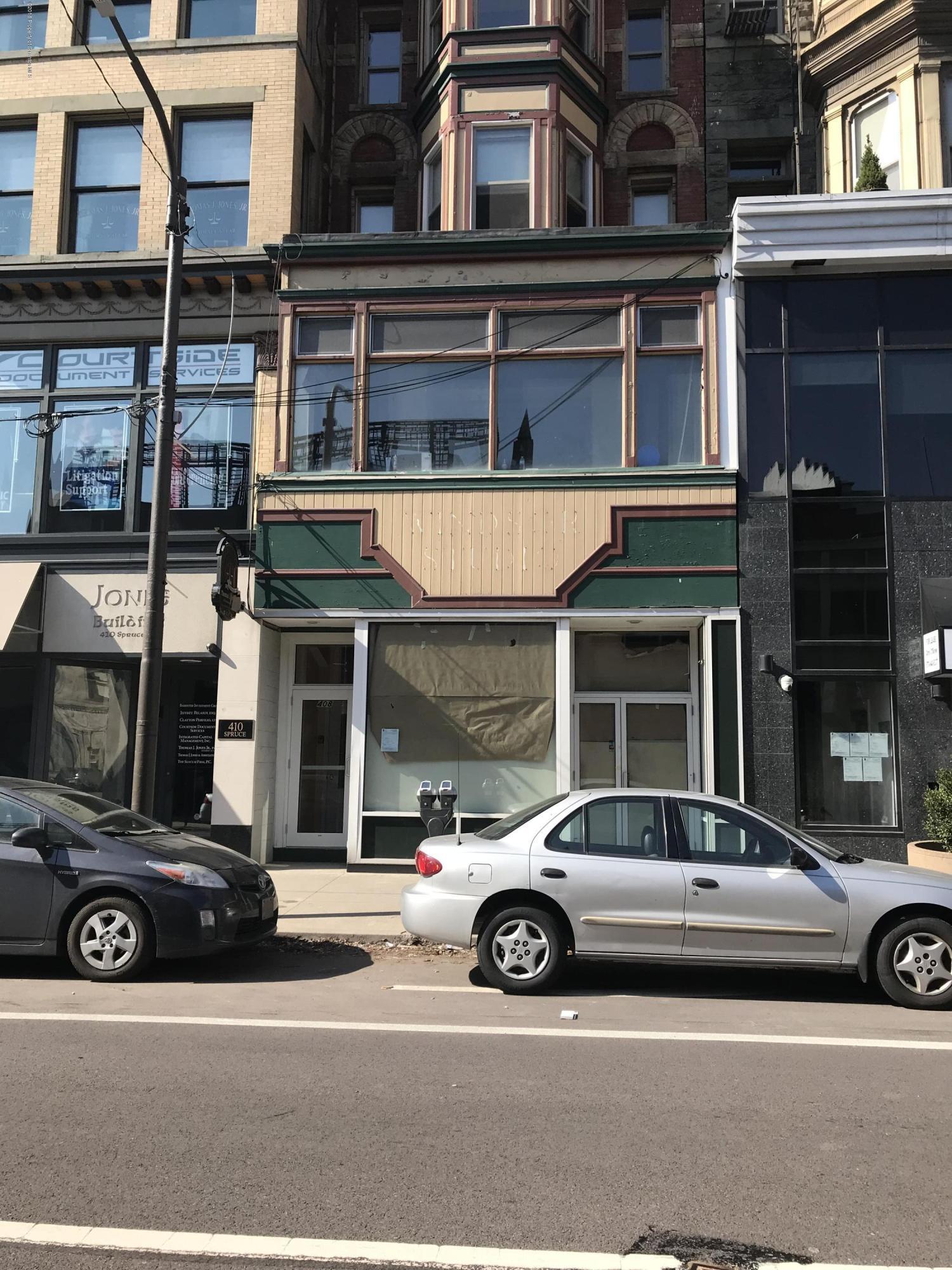 408 Spruce St, Scranton, Pennsylvania 18503, ,1 BathroomBathrooms,Commercial,For Lease,Spruce,18-1455