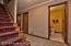 Foyer has half bath, closets and laundry/mud room