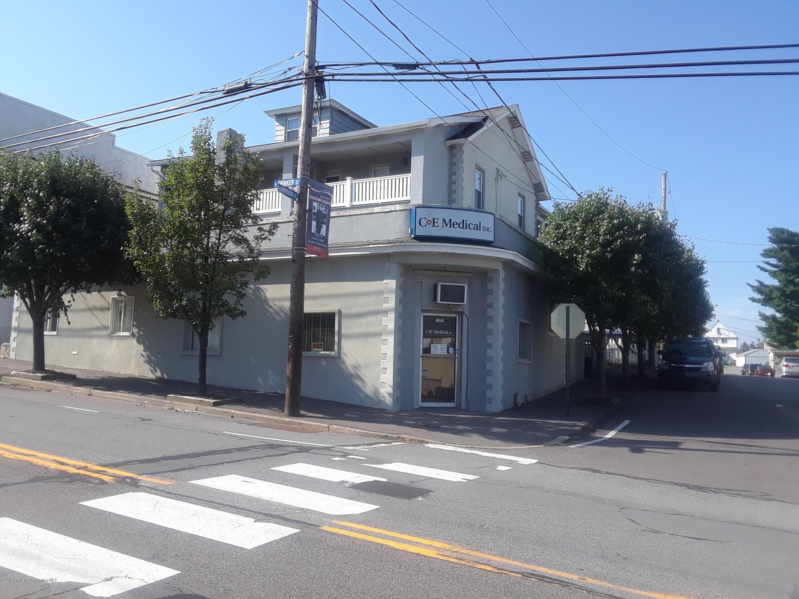 444 Drinker St, Dunmore, Pennsylvania 18512, ,2 BathroomsBathrooms,Commercial,For Lease,Drinker,18-3428