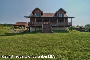 Log Home & 2 Car Garage in Rear 8.10 ACRES