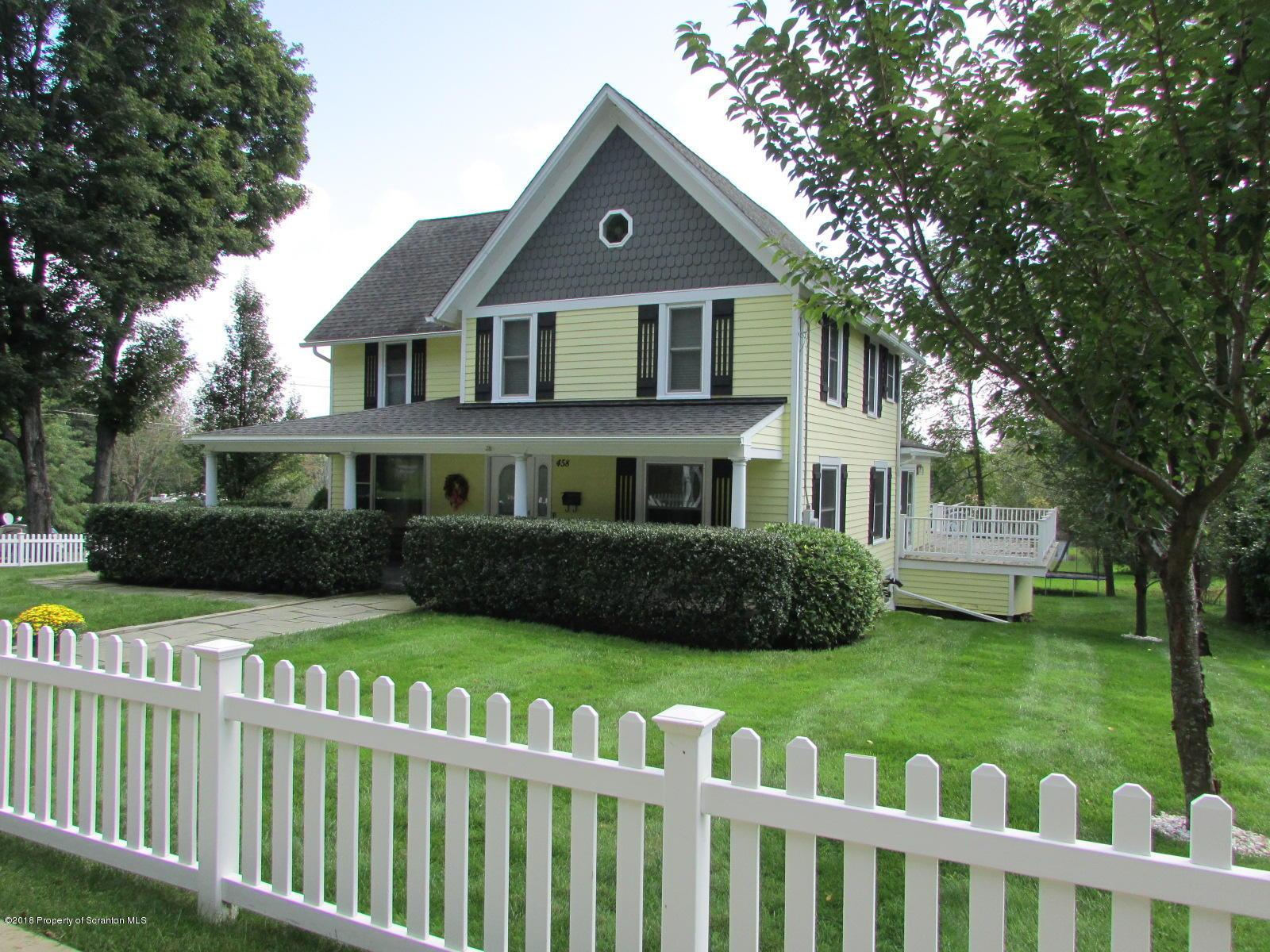 458 Lake Avenue- Montrose- Pennsylvania 18801, 3 Bedrooms Bedrooms, 8 Rooms Rooms,3 BathroomsBathrooms,Single Family,For Sale,Lake Avenue,18-4620