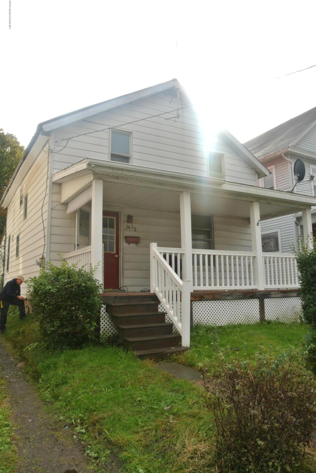 34 Belmont St, Carbondale, Pennsylvania 18407, 2 Bedrooms Bedrooms, 6 Rooms Rooms,1 BathroomBathrooms,Single Family,For Sale,Belmont,18-5205