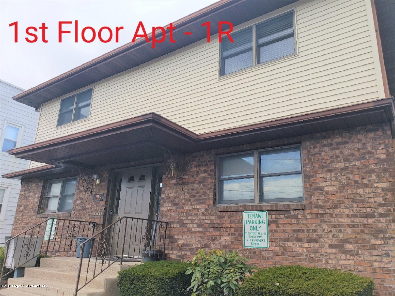 1115 Wheeler Ave, 1R, Dunmore, Pennsylvania 18510, 1 Bedroom Bedrooms, 3 Rooms Rooms,1 BathroomBathrooms,Rental,For Lease,Wheeler,18-5636