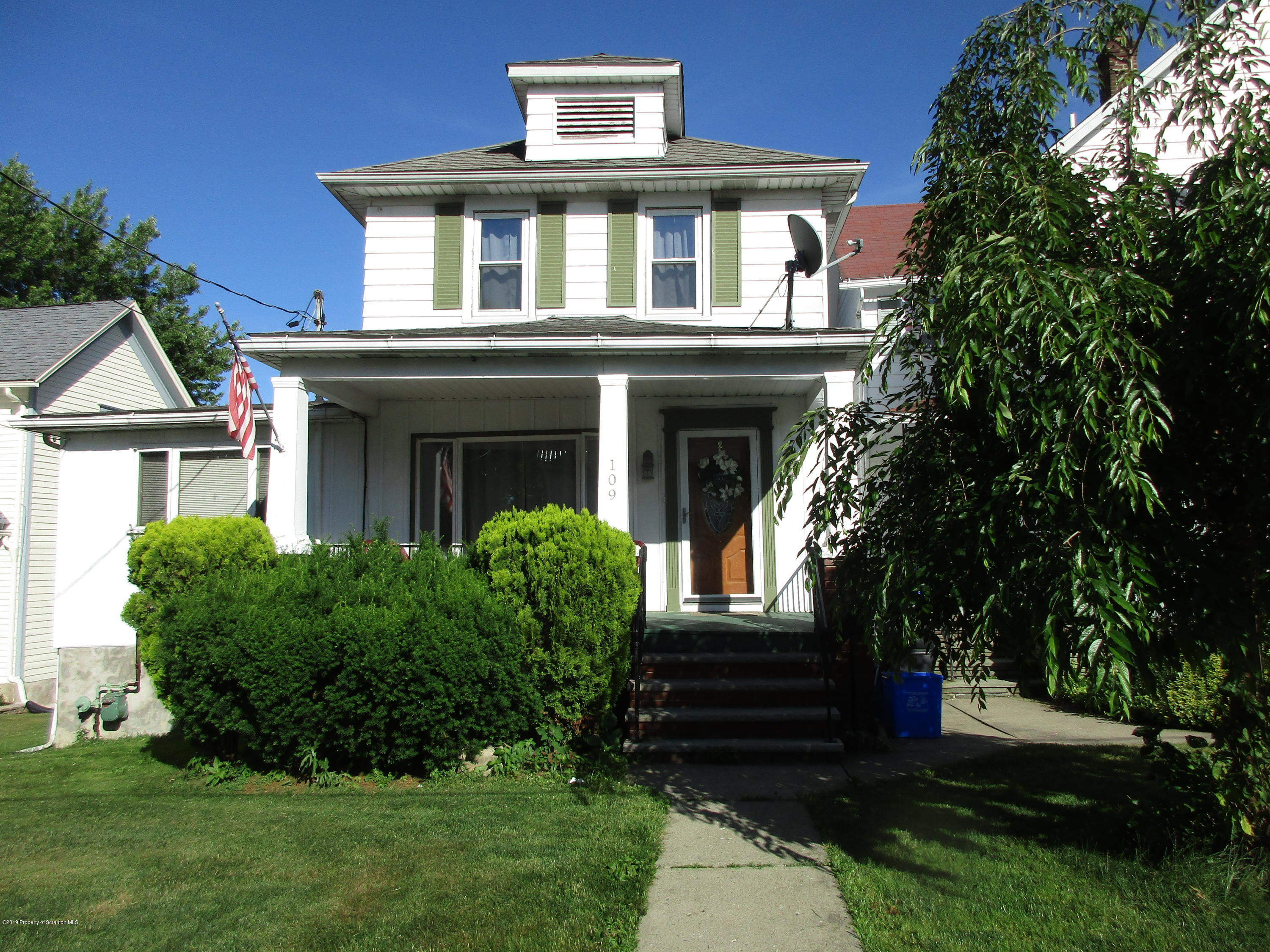 109 Clay Ave, Olyphant, Pennsylvania 18447, 5 Bedrooms Bedrooms, 7 Rooms Rooms,2 BathroomsBathrooms,Single Family,For Sale,Clay,19-96