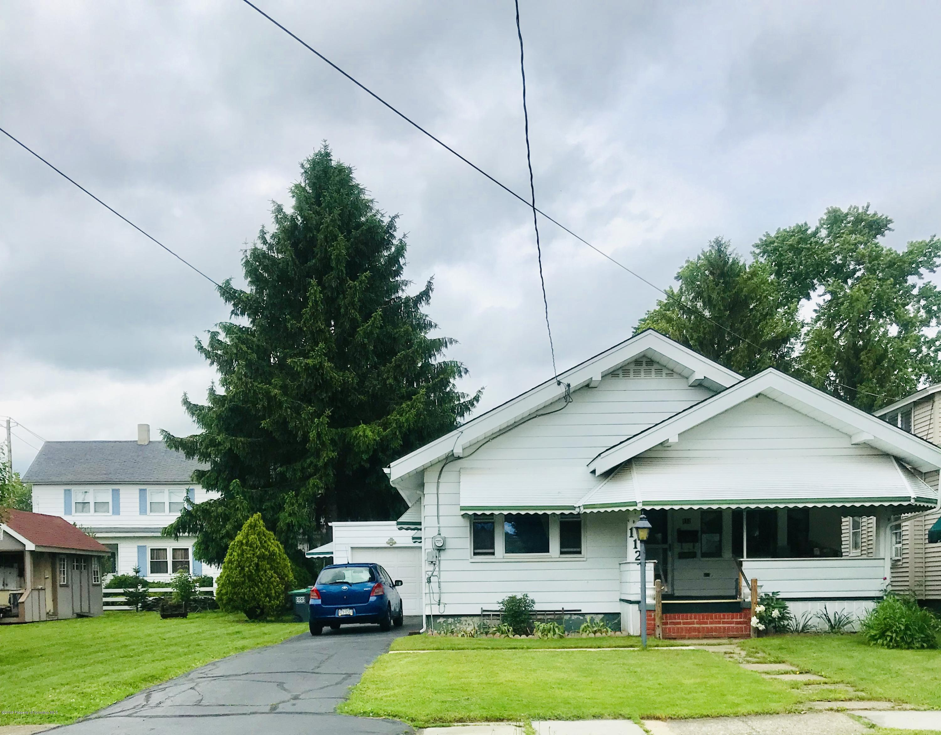 112 Bacon St, Jermyn, Pennsylvania 18433, 2 Bedrooms Bedrooms, 5 Rooms Rooms,1 BathroomBathrooms,Single Family,For Sale,Bacon,19-2582