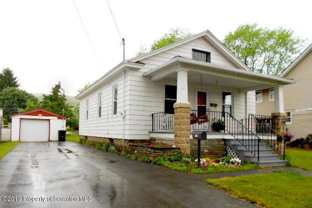615 Madison Ave, Jermyn, Pennsylvania 18433, 3 Bedrooms Bedrooms, 6 Rooms Rooms,1 BathroomBathrooms,Single Family,For Sale,Madison,19-2792