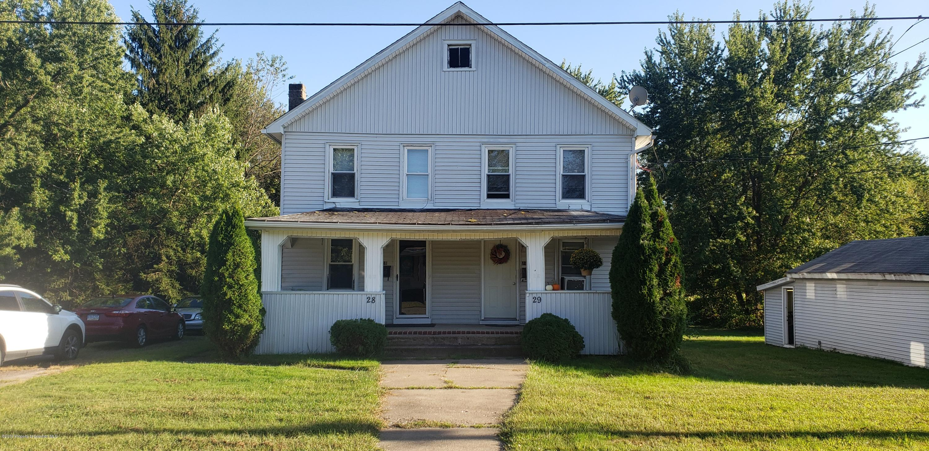 28-29 Connell St, Old Forge, Pennsylvania 18518, ,Multi-Family,For Sale,Connell,19-4689