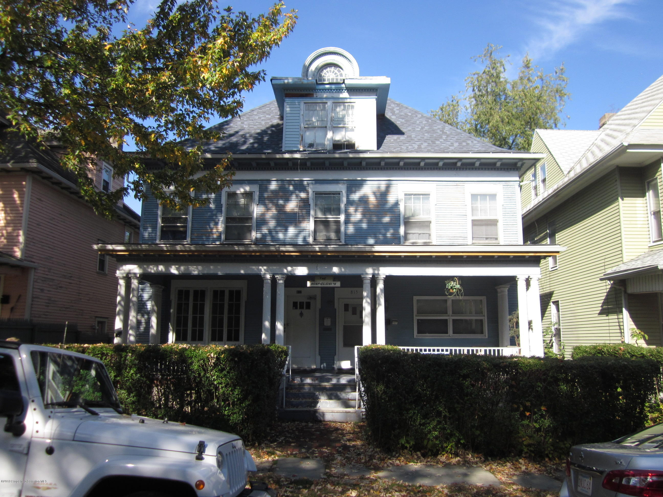 813 815 Madison Ave, Scranton, Pennsylvania 18509, ,Multi-Family,For Sale,815 Madison,19-5042