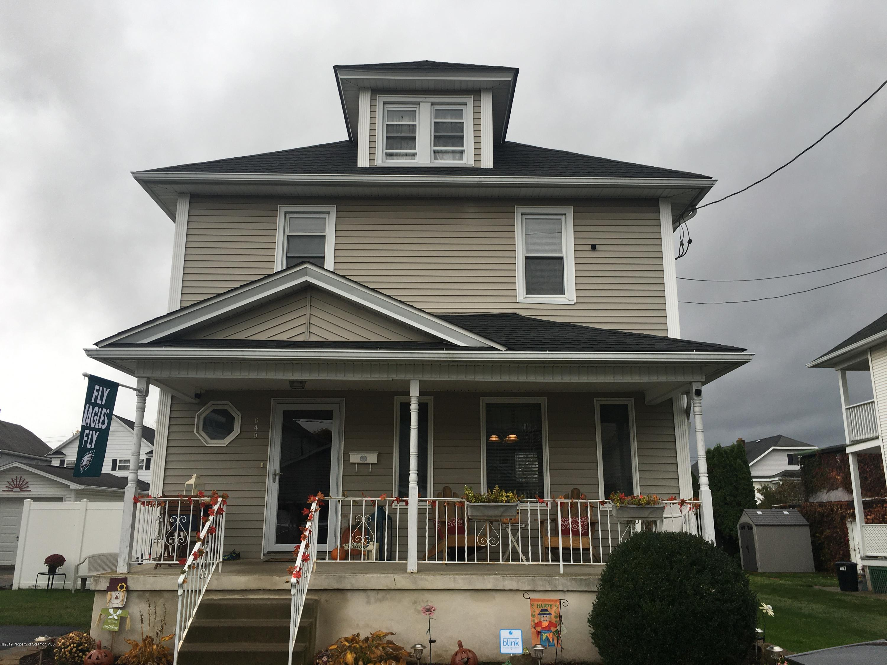 645 Pine St, Olyphant, Pennsylvania 18447, 3 Bedrooms Bedrooms, 7 Rooms Rooms,2 BathroomsBathrooms,Single Family,For Sale,Pine,19-5199