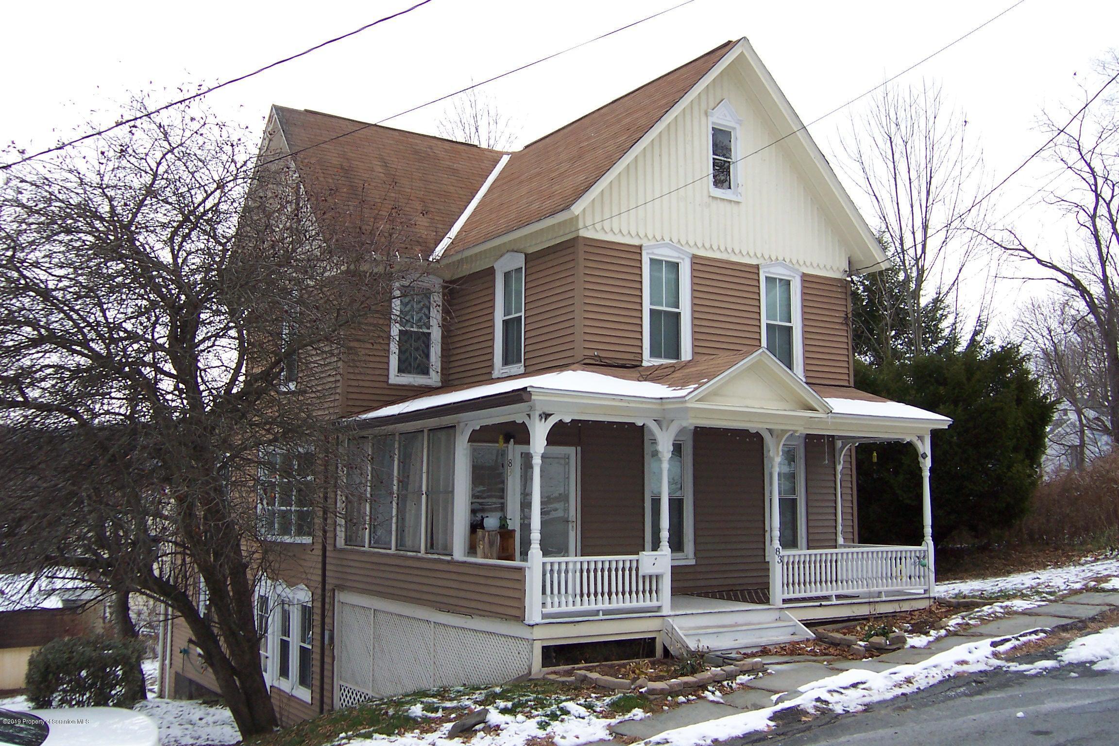 83 Pine Street, Susquehanna, Pennsylvania 18847, 4 Bedrooms Bedrooms, 7 Rooms Rooms,2 BathroomsBathrooms,Single Family,For Sale,Pine Street,19-5421