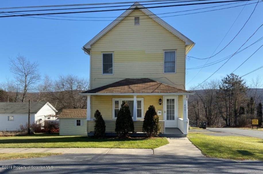 400 Hudson Street, Forest City, Pennsylvania 18421, 2 Bedrooms Bedrooms, 6 Rooms Rooms,2 BathroomsBathrooms,Single Family,For Sale,Hudson Street,19-5573