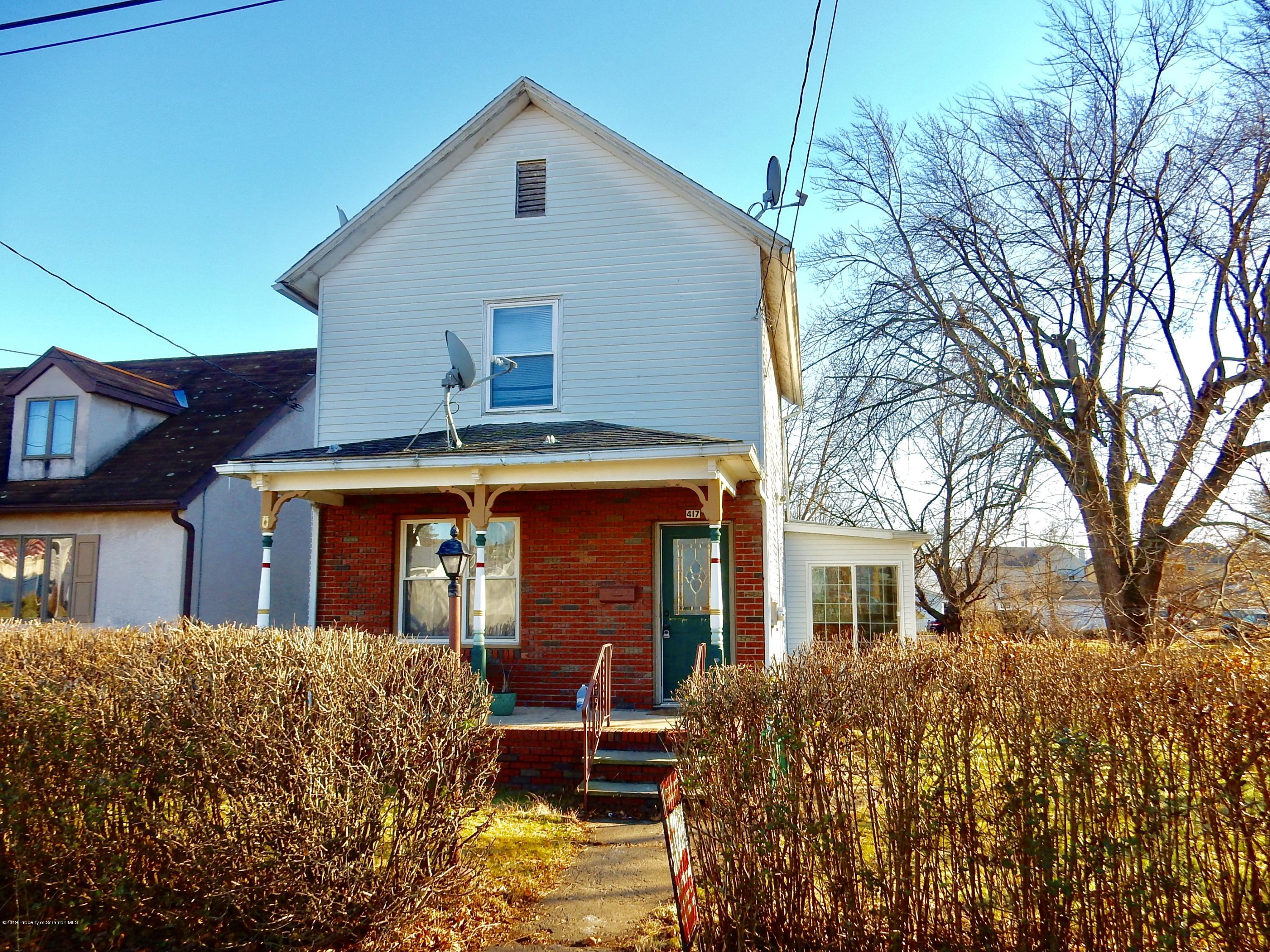 417 Sampson St, Old Forge, Pennsylvania 18518, 2 Bedrooms Bedrooms, 5 Rooms Rooms,2 BathroomsBathrooms,Single Family,For Sale,Sampson,19-5672