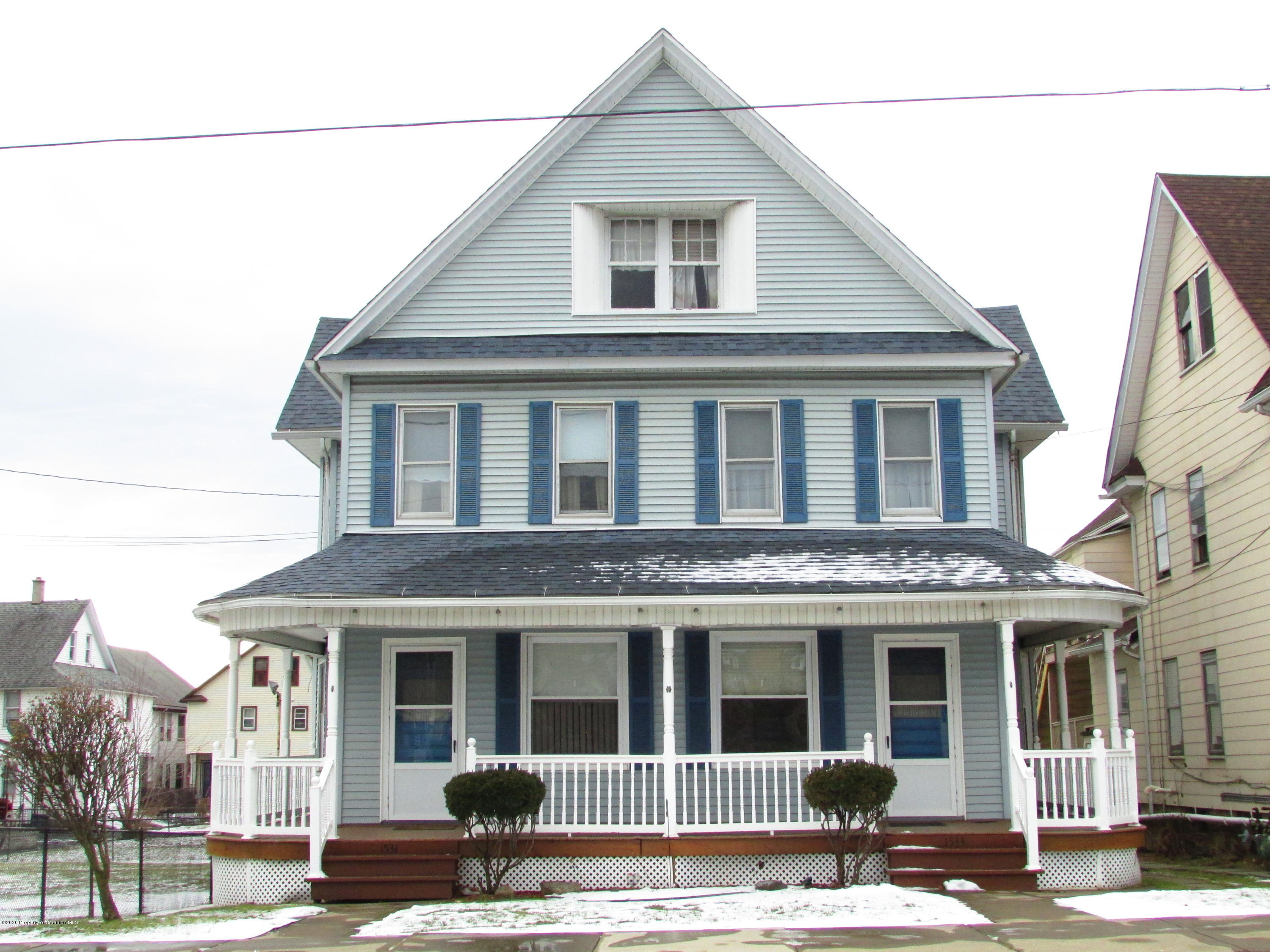 1531-1533 Washburn St, Scranton, Pennsylvania 18504, ,Multi-Family,For Sale,Washburn St,20-120