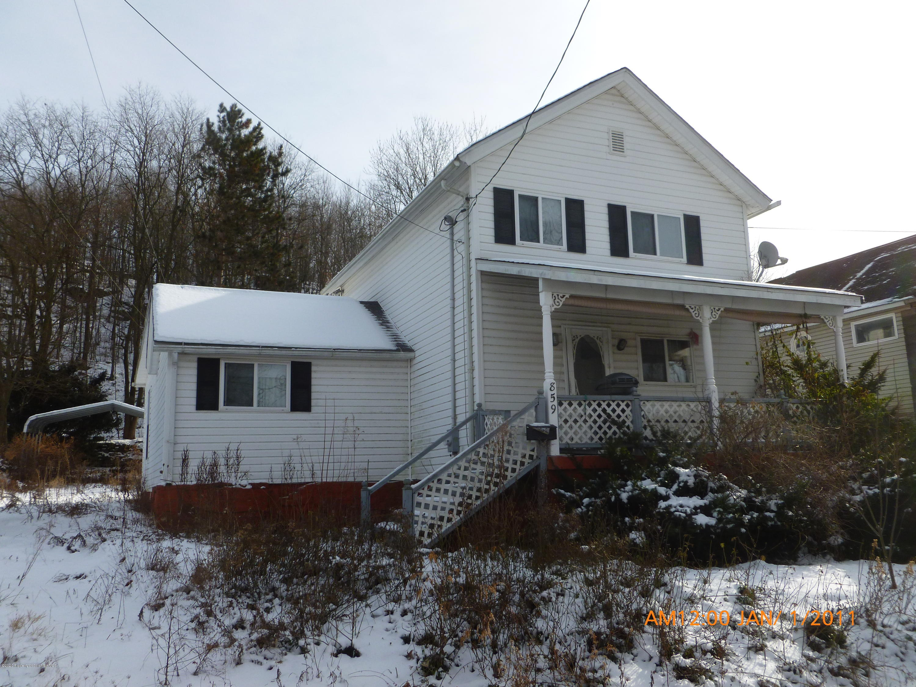 859 Hill St, Archbald, Pennsylvania 18403, 3 Bedrooms Bedrooms, 5 Rooms Rooms,1 BathroomBathrooms,Single Family,For Sale,Hill,20-161