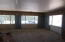 Family room with large windows