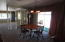 Dining area with sider to front
