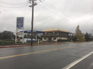 Beacon Gas Station and Convenience Store with 3-600 sq ft Offices above Store, 8-1,000 sq foot retail units, 2,000 sq foot Bar.