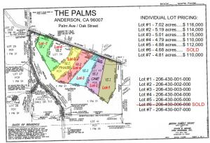 0002 Palm Ave., Anderson, CA 96007