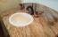 Den/office bathroom granite counter