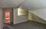 Door to storage area Upstairs