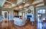 Great Room, Fireplace & Bar