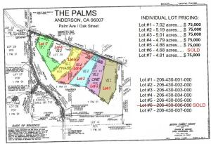 0007 Palm Ave, Anderson, CA 96007