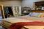MASTER BEDROOM HAS HIDDEN HUGE WALK-IN CLOSET