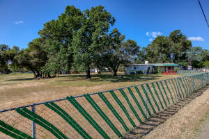Completely fenced property