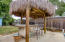 Palapa with built in BBQ