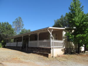 Full Length Covered Front Porch
