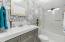 Impressive, spa-like master bathroom.