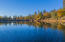 Lake with a cabin & boat dock - great fishing