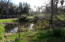 Pond with being fenced off