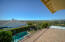 Master Private Patio overlooking pool and panoramic views!