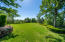 Large well maintained backyard.